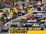 Video: Ghaziabad Tops The Chart Of 6 Most Polluted Cities, Delhi Hits Severe Category