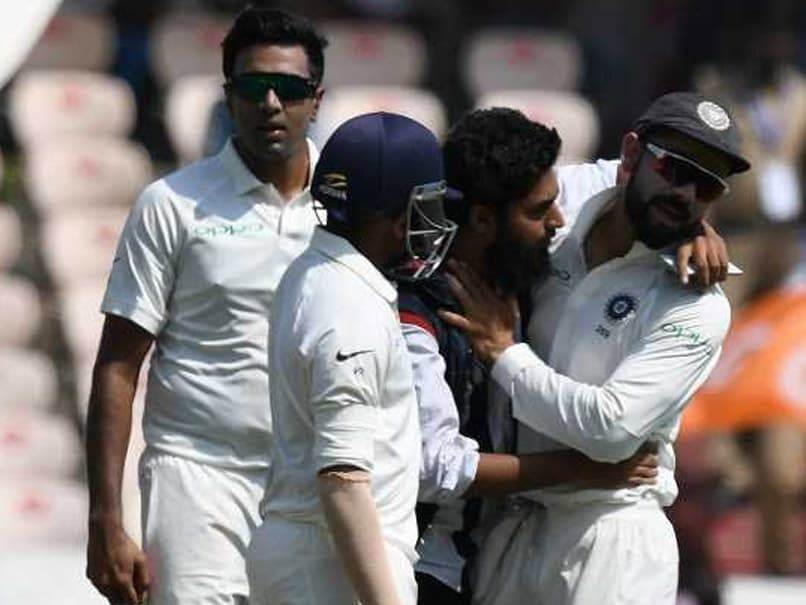 India vs West Indies 2nd Test: Fan Breaches Security, Tries To Kiss Virat Kohli