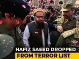 Video : Hafiz Saeed's Outfits Taken Off Terror List By Imran Khan's Government