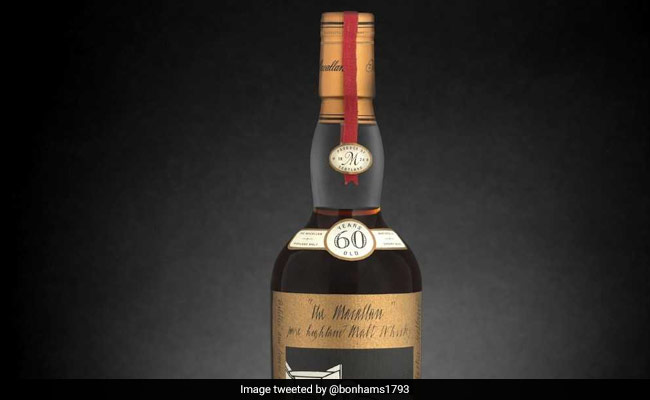 This Bottle Of Scotch Whisky Was Sold For Over $1 Million. Here's Why