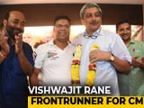 Video : As BJP Gains Numbers In Goa, Chief Minister Buzz Around Vishwajit Rane