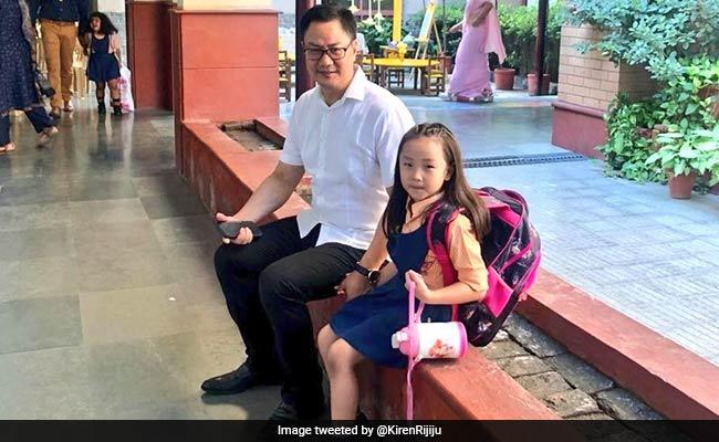 'Tell Your Boss...': How Kiren Rijiju's Daughter Took Him To Her School
