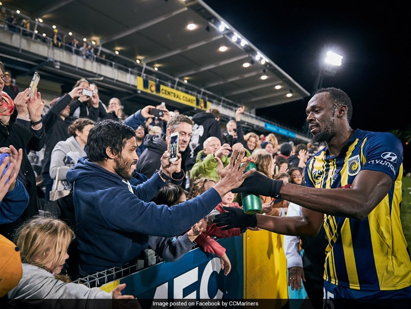 Watch: Usain Bolt Scores Twice On His First Start As Professional Footballer