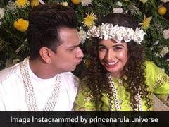 Inside Yuvika Chaudhary And Prince Narula's <I>Mehendi</I> Celebration