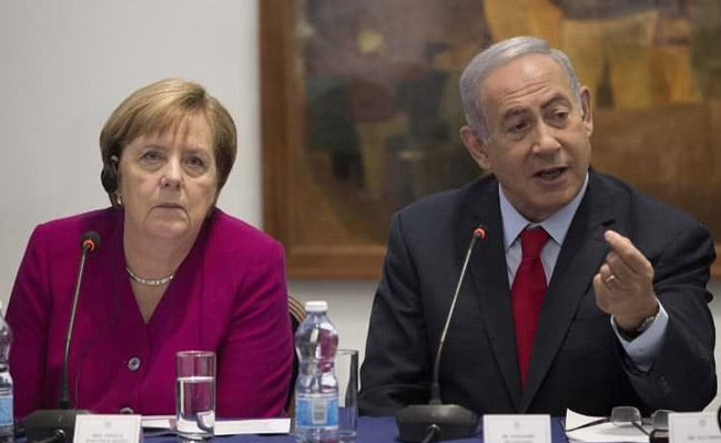 In Israel, Angela Merkel Pledges Germany's Fight Against Anti-Semitism