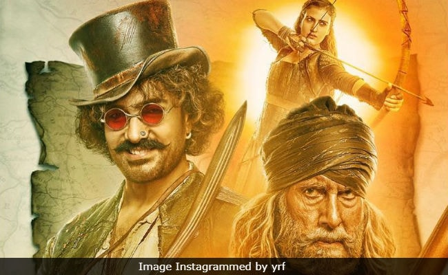 Thugs Of Hindostan New Poster: Aamir Khan And Amitabh Bachchan Are No Ordinary 'Thugs'