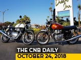 Video: BS6 Norms, RE 650 Bookings, Marazzo Apple Carplay