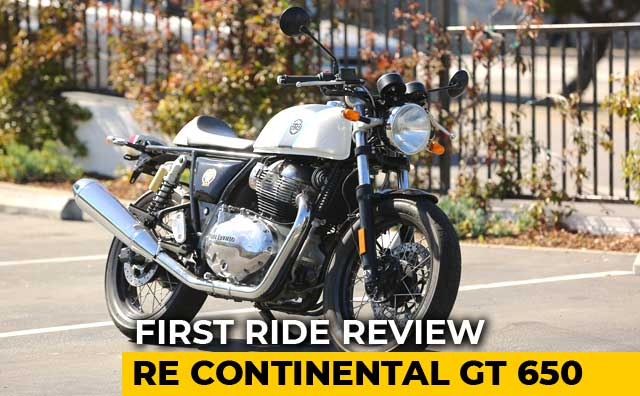 Royal Enfield Continental GT 650 First Ride Review