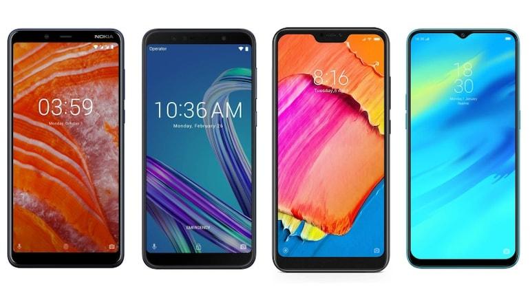 Nokia 3.1 Plus, Realme 2 Pro, Xiaomi Redmi 6 Pro और Asus ZenFone Max Pro M1 में कौन बेहतर?