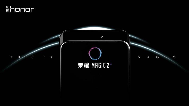 Honor Magic 2 होगा कैमरा स्लाइडर वाला फोन, 31 अक्टूबर को उठेगा पर्दा