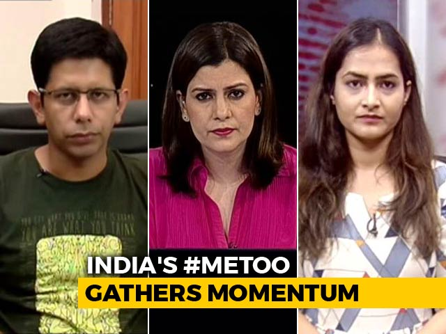 Video : #MeToo: Union Minister Named, TV Actor Accused Of Rape