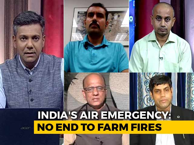 Video : Farm Fires Pollution May Almost Double By 2050, Claims New Study