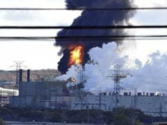 Explosion And Fire Reported At Canada's Largest Oil Refinery