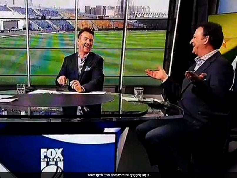 Watch: Mark Waugh's On-Air Blooper Leaves Brett Lee In Splits