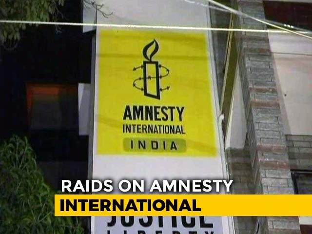 Video : Amnesty International Bengaluru Office Raided By Enforcement Directorate