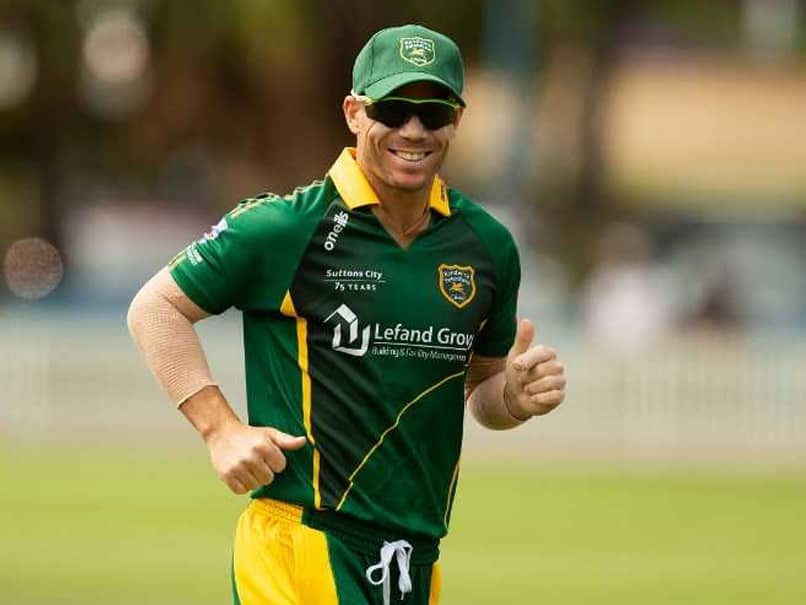 Banned Australian Cricketer David Warner To Join Bangladesh Premier League