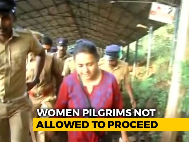 Video : NY Times Journalists On Sabarimala Trek Return As Protesters Throw Stones
