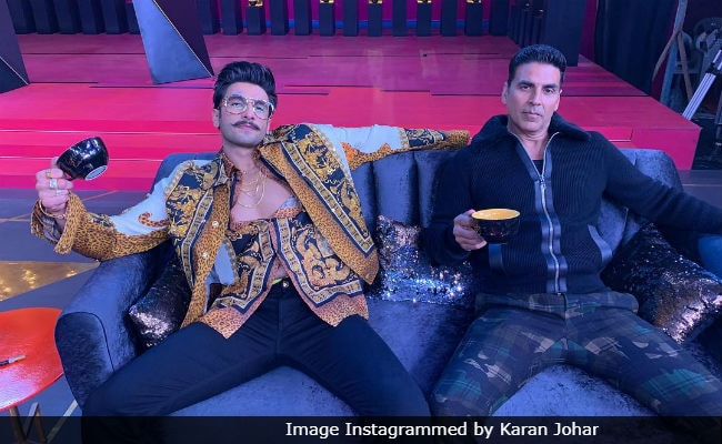 Koffee With Karan 6: Ranveer Singh's Epic Response To Akshay Kumar's Wedding Date Question