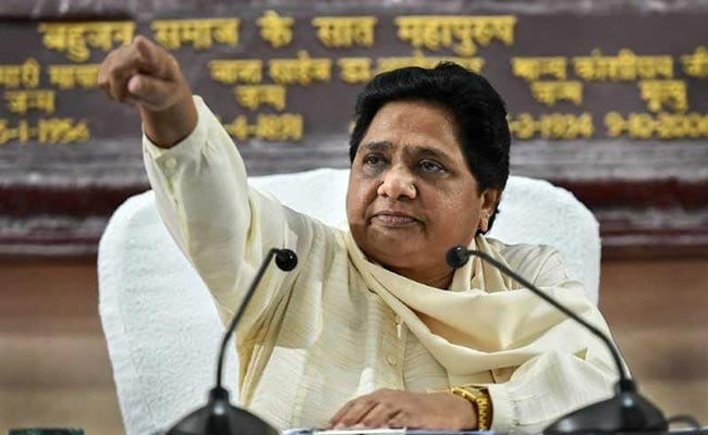 Centre's 10% Quota Announcement An Election Stunt, Says Mayawati