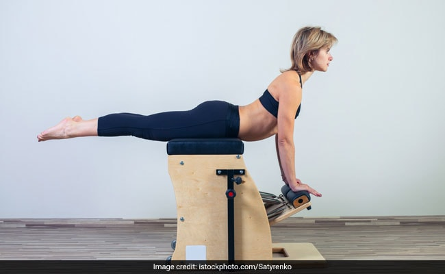 Side Bends On Stability Chair: Watch Celebrity Pilates Trainer Namrata Purohit Trying This Interesting Move On The Wunda Chair