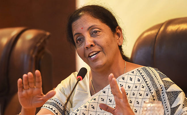 On Bad Loans, Nirmala Sitharaman Blames Congress-Led Government