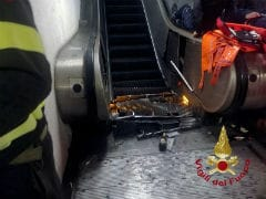 20 Russian Soccer Fans Injured In Rome Metro Escalator Accident