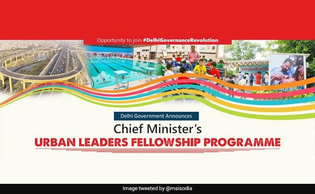 Delhi Government Launches CM's Urban Leaders Fellowship Programme