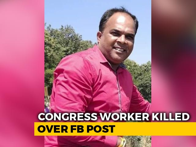 Video : Congress Worker Stabbed To Death In Mumbai Allegedly Over Facebook Post