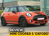 Mini Cooper S 'Oxford' Edition: Review