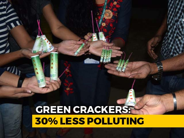 """Video : 10 Days Before Diwali, Country's First """"Green Cracker"""" Is Ready, But..."""