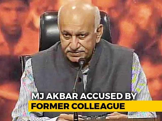 Video : Minister MJ Akbar Named In #MeToo, Senior Sushma Swaraj Ducks Question