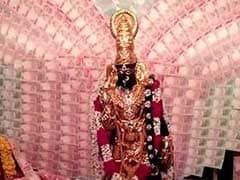 Gold Worth Rs 2 Crore And Rs 2.5 Crore In Notes For Vizag Temple Deity