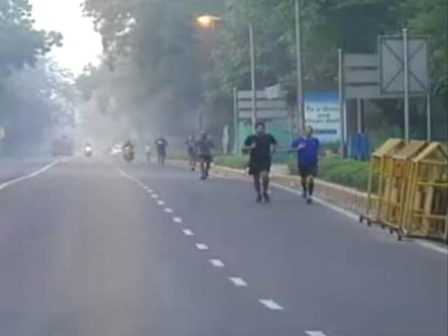 Video : New Delhi Gears Up For Half Marathon Amid Air Pollution Concerns