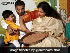 <i>Ezhuthiniruthu</i>: Children In Kerala Initiated Into World Of Learning On Vijayadashami
