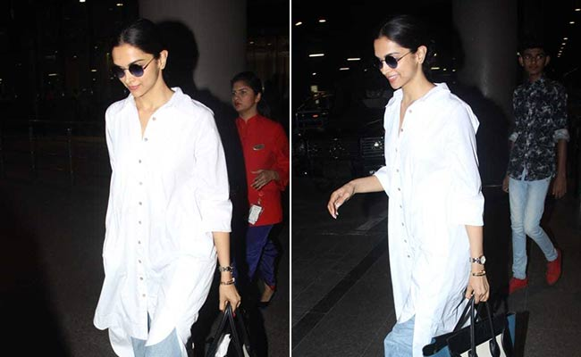 Deepika Padukone Makes A Case For Longline Shirts. Get Her Look