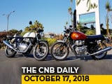 Royal Enfield 650 Twins, Isuzu MU-X Facelift, 2018 Porsche Cayenne Launch