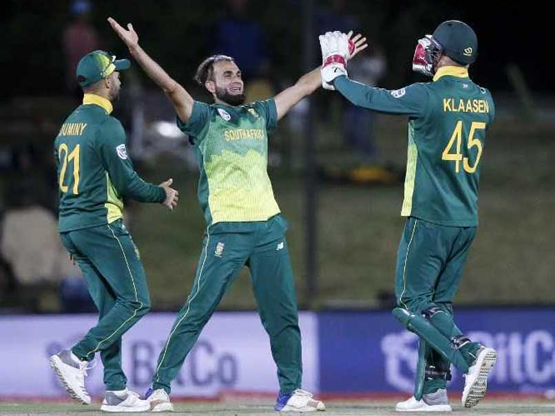 Imran Tahir Hat-Trick, Dale Steyn Fifty Help South Africa Beat Zimbabwe By 120 Runs