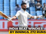 Video : India Outclass Windies To Register Big Win In Rajkot Test