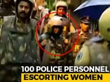 Video : Unfazed By Protests, 2 Women Trek To Sabarimala Shrine Amid Security