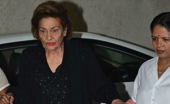 Krishna Kapoor, wife of Raj Kapoor, dies at 87