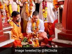 कांग्रेस राम मंदिर निर्माण के खिलाफ माहौल बना रही है, राहुल गांधी हिन्दू हैं या नहीं : बीजेपी