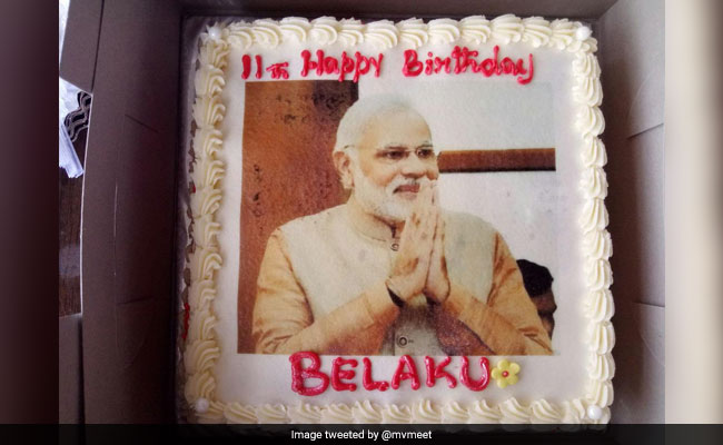 The Little Girl Whose Birthday Cake Wish Moved PM Modi