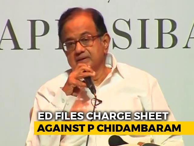 Video : P Chidambaram Charged In Aircel Maxis Case, Is Accused No. 1