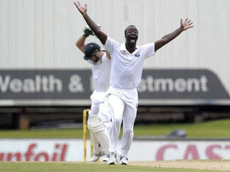 Kemar Roach unavailable for Rajkot Test