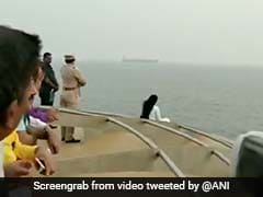 Watch: Devendra Fadnavis' Wife Takes Selfie In Unsafe Zone Of Cruise Ship
