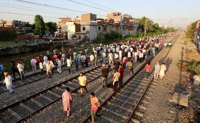 Protestors Sit On Tracks In Amritsar, Seek Action Against Train Driver