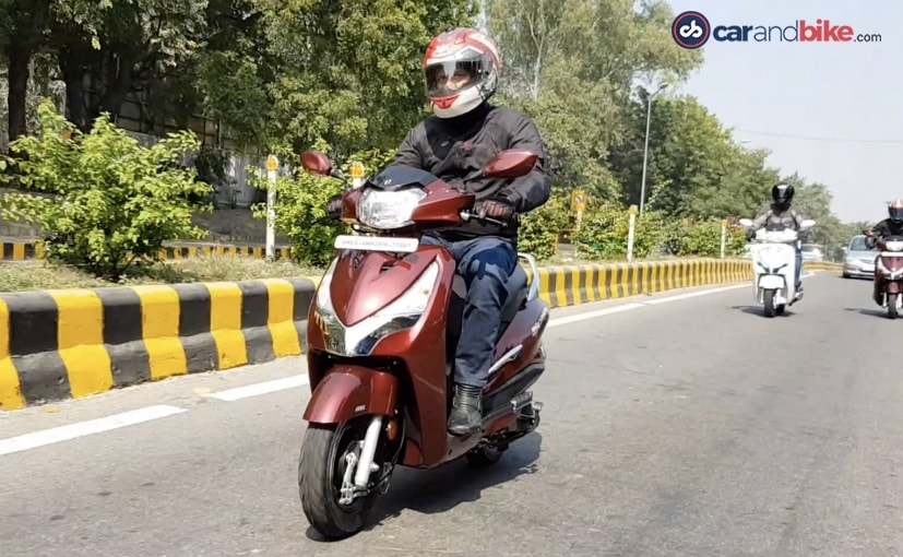 The Hero Destini 125 is the most affordable 125 cc scooter right now