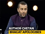 "Video : ""Was Going Through A Phase"": Chetan Bhagat In #MeToo Apology Note"