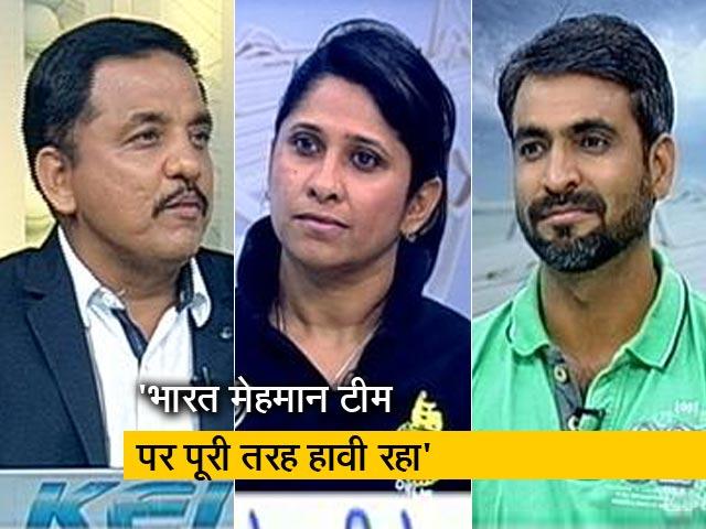 Video : टेस्ट में भारतीय टीम की सबसे बड़ी जीत पर अजय रात्रा की प्रतिक्रिया