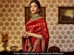 Deepika Padukone's Bridal Couture Will Be Courtesy Sabyasachi - Is This A Hint?